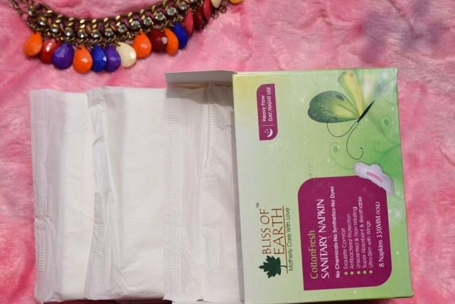 Bliss Of Earth CottonFresh Sanitary Napkin (4)
