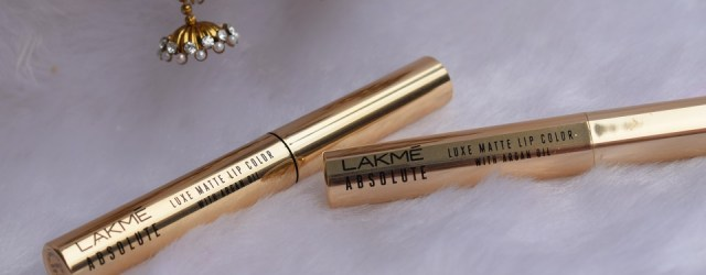Lakme Absolute Luxe Matte Lip Color With Argan Oil - Grand Fuchsia , Rosy Lips (3)