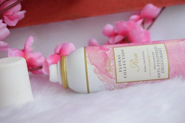 Marks & Spencer Floral Collection AntiPerspirant Deodorant Rose (4)
