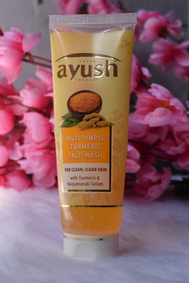 Ayush Anti Pimple Turmeric Face Wash (2)