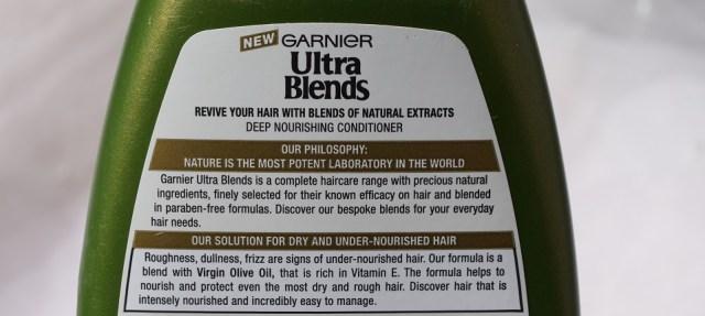 Garnier Ultra Blends Mythic Olive Deep Nourishing Conditioner (3)