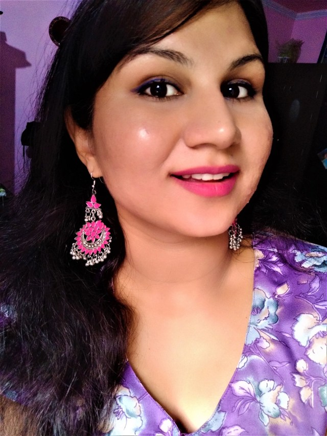 Maybelline Color Jolt Intense Lip Paint - 08 Flaunting My Pink Lip Swatches
