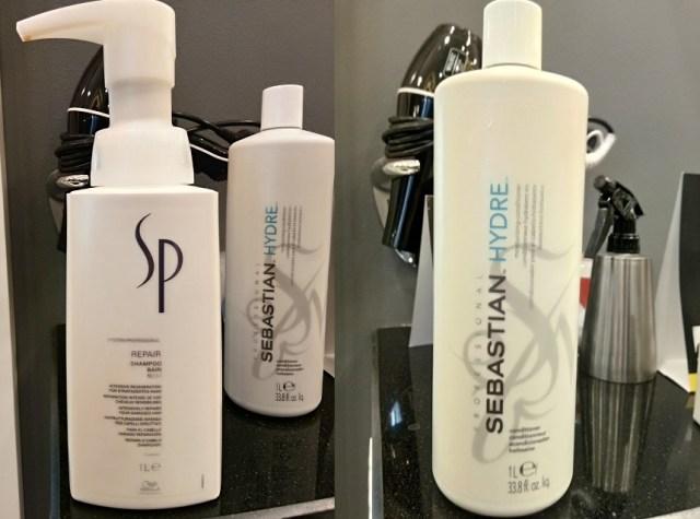 SP Repair Shampoo & Sebastian Hydre Conditioner
