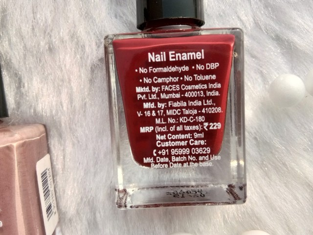 Faces Canada Hi-Shine Nail Enamel