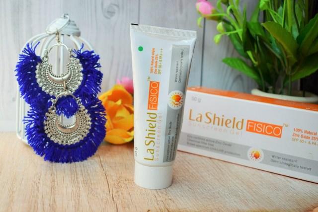 La Shield FISICO Sunscreen Gel SPF50+ with PA+++