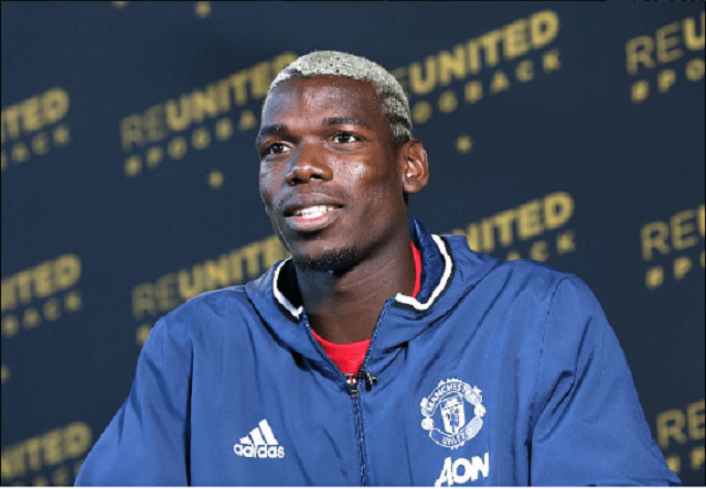 How will Manchester United lineup with Paul Pogba?
