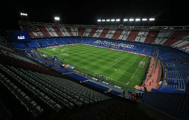 Vicente Calderon Atletico Madrid Real Madrid La Liga Football