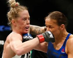 Germaine de Randamie HollyHolm UFC 208 Women's Featherweight MMA UFC Ultimate Fighter Ultimate Fighting Championship Mixed Martial Arts