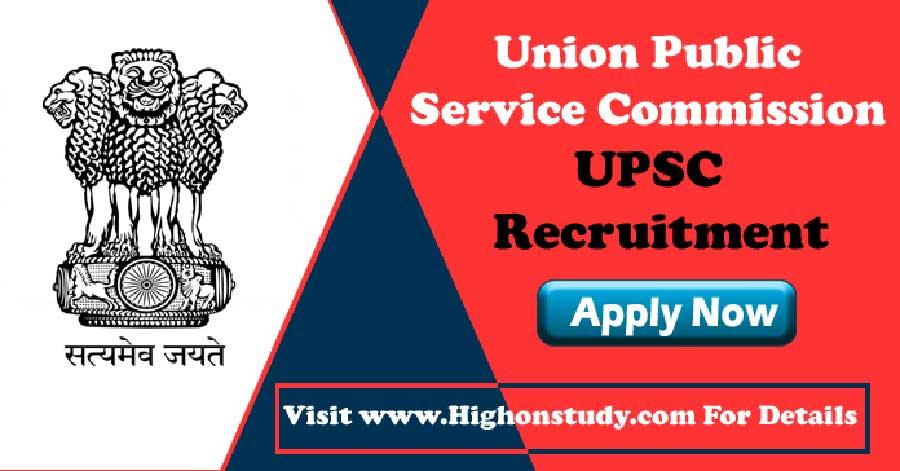 UPSC Govt recruitment