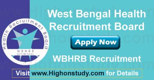 West Bengal Health Recruitment Board (WBHRB) Recruitment