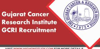 GCRI Recruitment