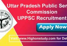 Uttar Pradesh Public Service Commission JObs