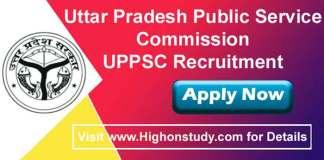 Uttar Pradesh Public Service Commission JObs