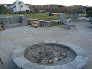 New Patio and Fire Pit