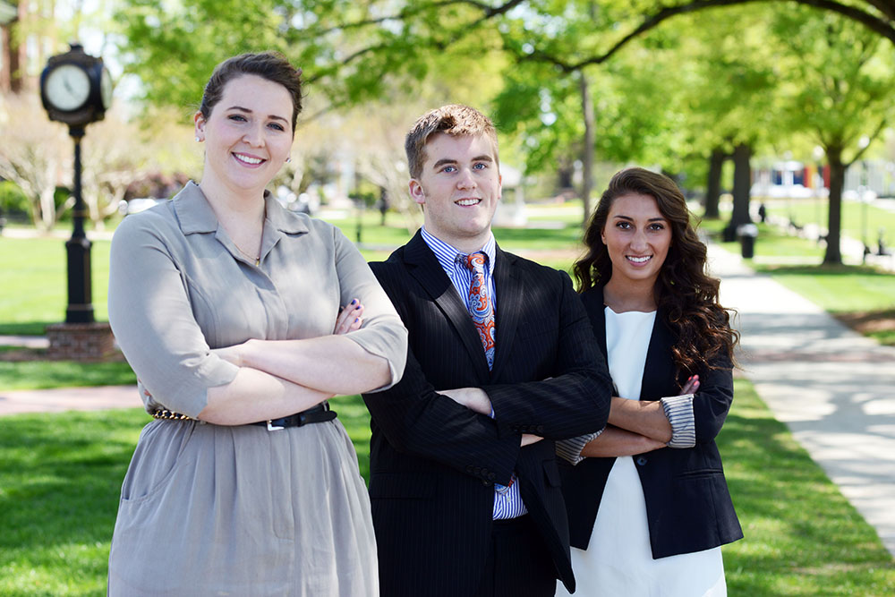 Students Awarded $15.000 in Start-Up Funds at Business Plan Competition | High Point University | High Point. NC