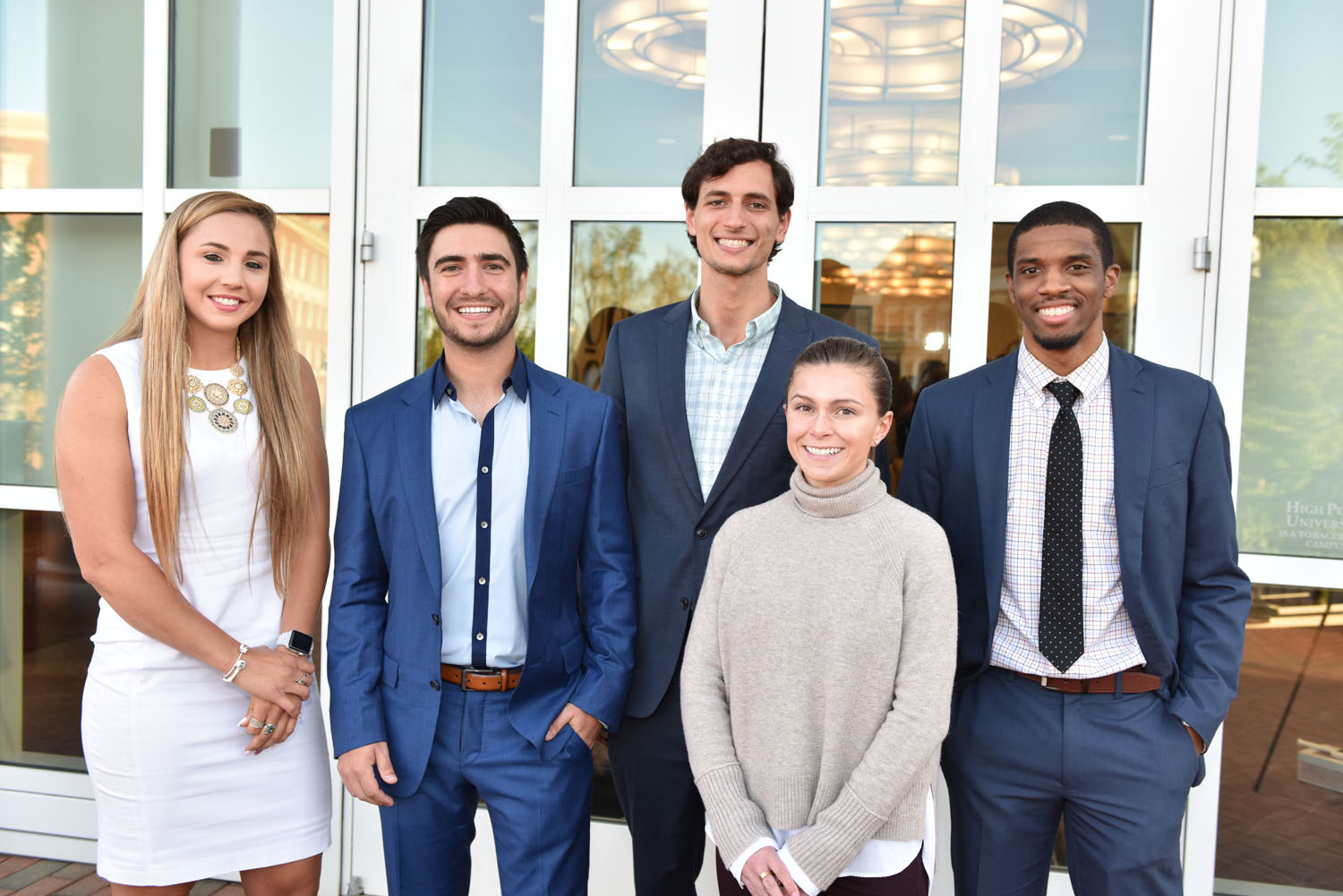 HPU Students Win $25.000 in Start-Up Funds at 2018 Business Plan Competition | High Point University | High Point. NC