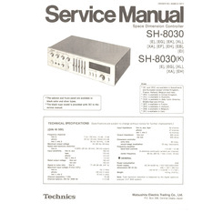SH-8030 Technics Service Manual HighQualityManuals.com