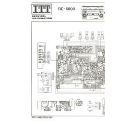 RC-6600 ITT Service Manual HighQualityManuals.com
