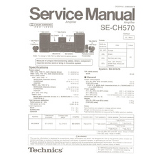 SE-CH570 Technics Service Manual HighQualityManuals.com