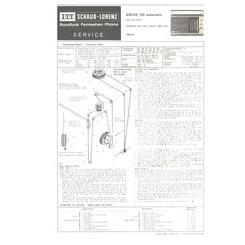 AMIGO 100 automatic Schaub-Lorenz Service Manual