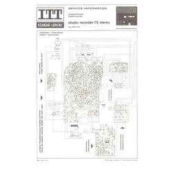 STUDIO RECORDER 72 stereo Schaub-Lorenz Service Manual