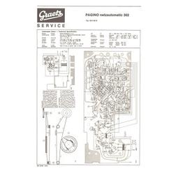 PAGINO netzautomatic 302 Graetz Service Manual