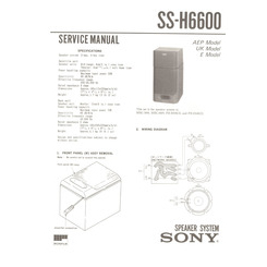 SS-H6600 Sony Service Manual HighQualityManuals.com