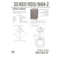 SS-H313 Sony Service Manual HighQualityManuals.com