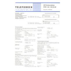 STM 1 HiFi Telefunken Service Manual HighQualityManuals.com