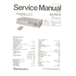 SA-R310 Technics Service Manual HighQualityManuals.com