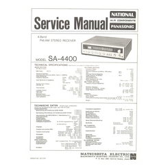 SA-4400 Technics Service Manual HighQualityManuals.com