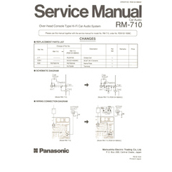RM-710 National Service Manual HighQualityManuals.com