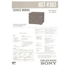 HSTV302 Sony Service Manual HighQualityManuals