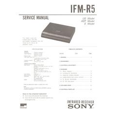 IFM-R5 Sony Service Manual HighQualityManuals.com