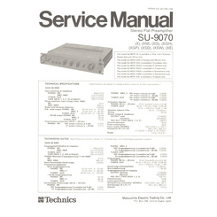 SU-9070 Panasonic Service Manual HighQualityManuals.com