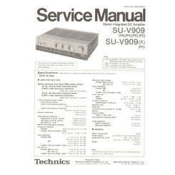 SU-V909 Technics Service Manual HighQualityManuals.com