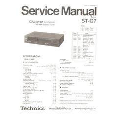 ST-G7 Technics Service Manual HighQualityManuals.com