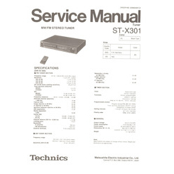 ST-X301 Technics Service Manual HighQualityManuals.com