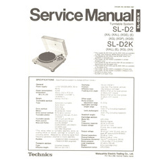 SL-D2 Technics Service Manual HighQualityManuals.com