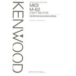 M-62 MIDI Kenwood Owner's Manual HighQualityManuals.com