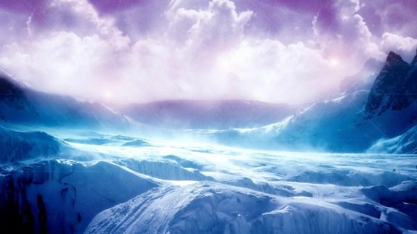High Resolution Ice Terrain Wallpaper - Hd Wallpapers