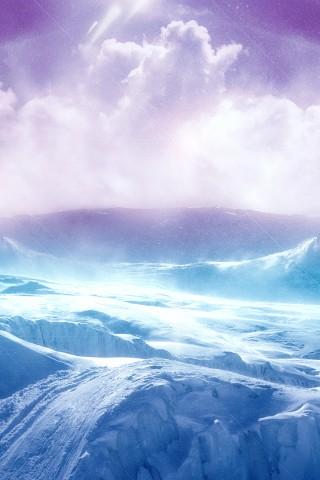 Water Fall Effect Wallpaper High Resolution Ice Terrain Wallpaper Hd Wallpapers