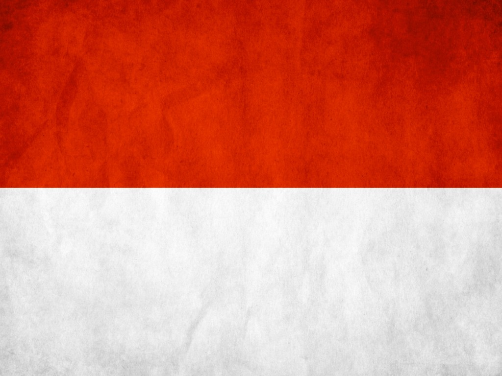 indonesia flag wallpaper hd