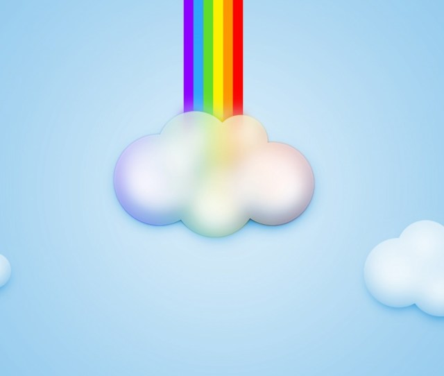 Cartoon Rainbow Wallpaper High Resolution Wallpaper