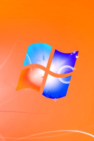 Car Wallpapers 2014 Download Orange Windows Logo Wallpaper Hd Wallpapers
