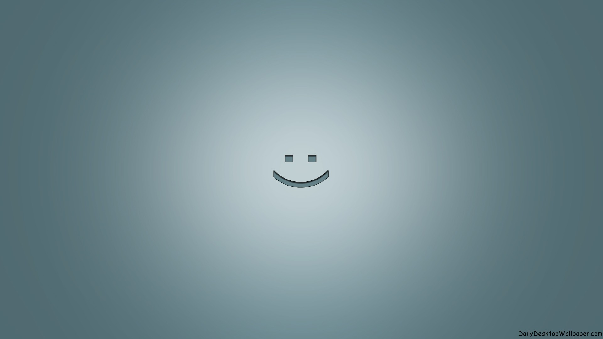 3d Wallpaper Low Bright Smile In Grey Hd Wallpapers