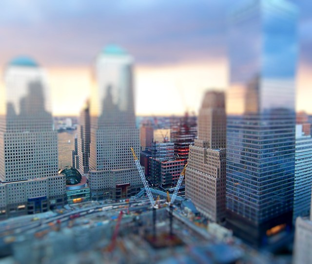 Tilt Shift Hd Photography Background