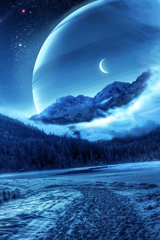 Summer Iphone Wallpaper Blue Snowcapped Serenity Wallpaper Hd Wallpapers
