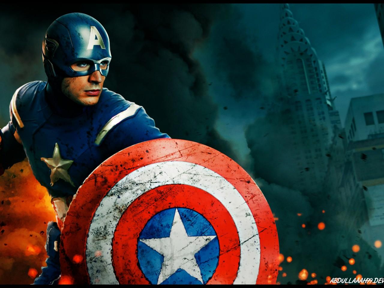 American Dad Wallpaper Iphone Captain America Hd Wallpapers