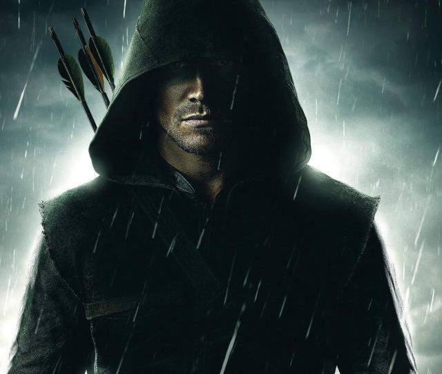 Green Arrow Action Hero Wallpaper